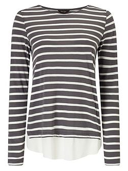 Wilton Stripe Top