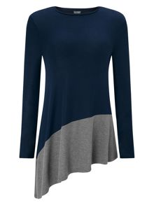 Phase Eight Carmel Colour Block Top