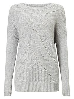 Aletta Cable Knit Jumper