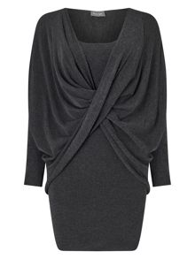 Phase Eight Teodora Twist Knitted Dress