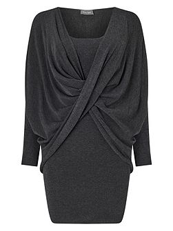 Teodora Twist Knitted Dress