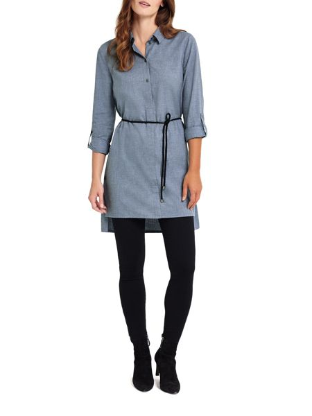 Phase Eight Bina Button Shirt Tunic
