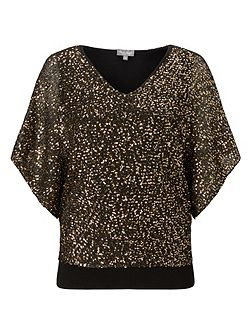 Antonella Sequin Knit Top