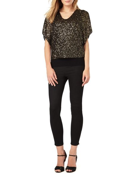 Phase Eight Antonella Sequin Knit Top