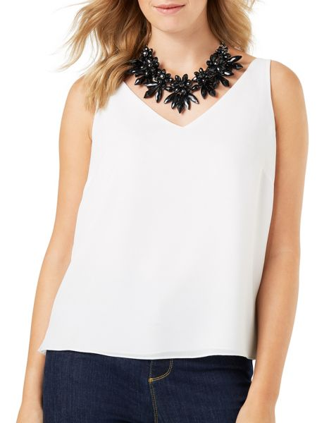 Phase Eight Kady Crystal Flower Necklace