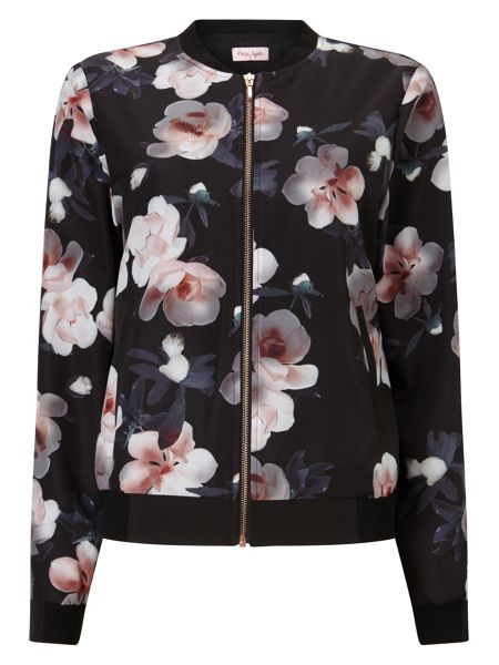 Phase Eight Adamma Floral Bomber Jacket