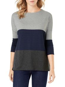 Phase Eight Connie Colour Block Top