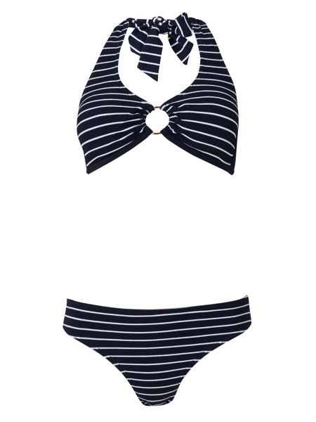 Phase Eight Stripe Bikini Top