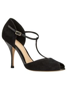 Phase Eight Tammara T-Bar Peep Toe Shoe