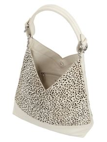 Phase Eight Animal Print Leather Tote