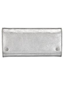 Phase Eight Metallic Leather Purse