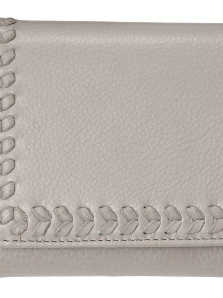 Phase Eight Whipstitch Leather Purse