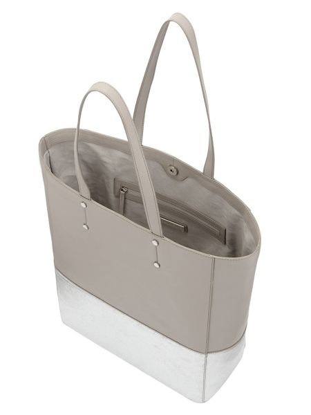 Phase Eight Lucy Metallic Leather Tote