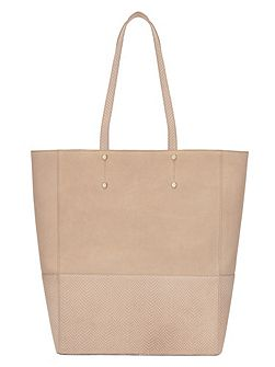 Lucy Printed Leather Tote