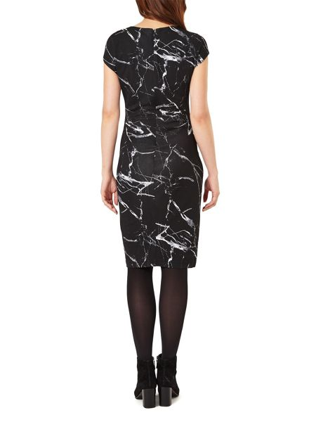 Phase Eight Marble Print Dress