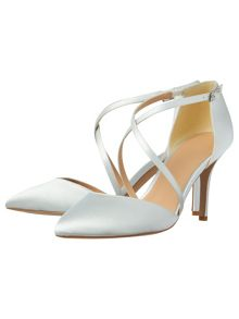 Phase Eight Satin Pointed Court Shoes