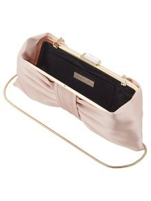 Phase Eight Suzie Satin Bow Clutch