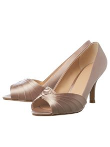 Phase Eight Sammy Satin Peep Toe Shoe