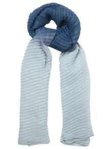 Phase Eight Pleated Ombre Scarf