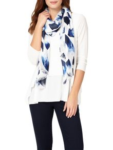 Phase Eight Brushstroke Print Scarf