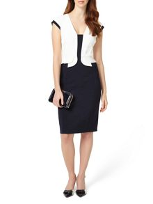 Phase Eight Elaina Peplum Dress