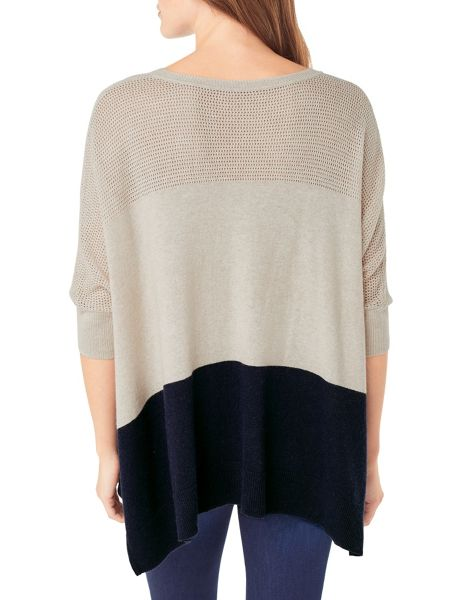 Phase Eight Cerelia Colourblock Knitted Jumper