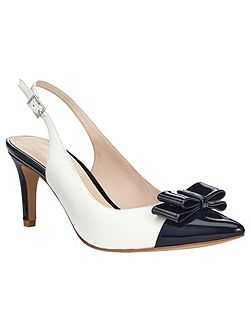 Molly Pointed Sling Back Heels