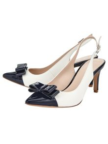 Phase Eight Molly Pointed Sling Back Heels