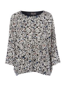 Phase Eight Terazo Print Top