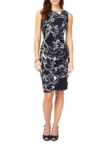 Phase Eight Clara-Mae Printed Dress