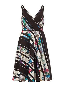 Ethelda Printed Dress