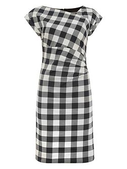 Jadyn Check Dress