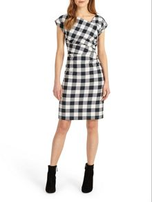 Phase Eight Jadyn Check Dress