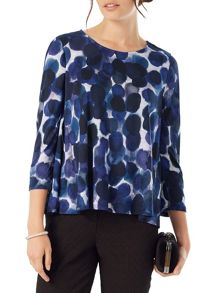 Phase Eight Watercolour Spot Top