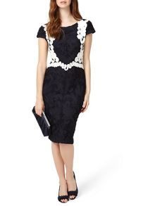Phase Eight Daphne Tapework Dress