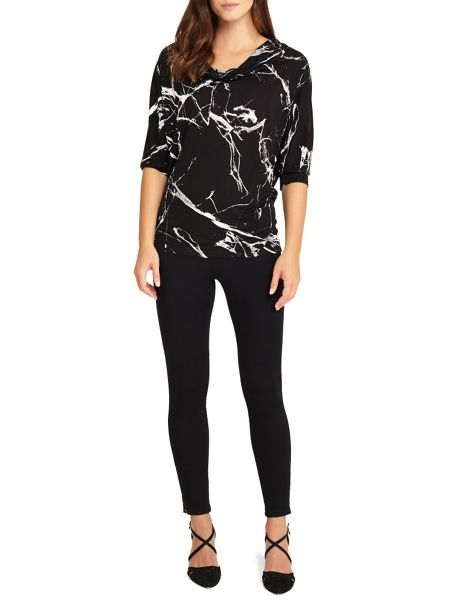 Phase Eight Marble Print Top