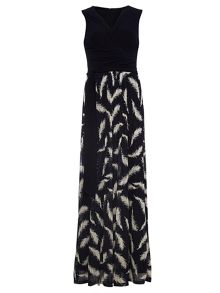 Phase Eight Domenika Feather Lace Maxi Dress