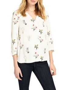 Phase Eight Aria Print Blouse