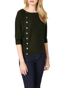Phase Eight Natka Button Knitted Jumper