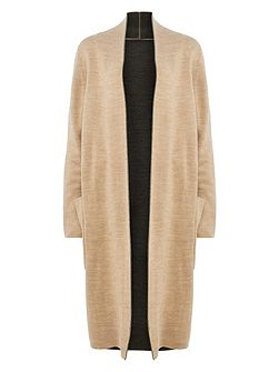 Gianina Double-Faced Knitted Coat