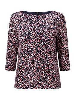 Ditsy Spot Top