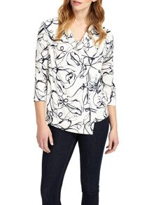 Phase Eight Sechura Print Top