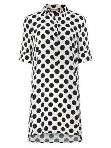 Phase Eight Marilyn Spot Dress