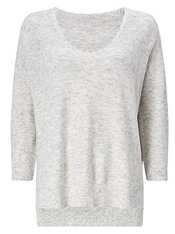 Rosabelle Mix Stitch Knitted Jumper