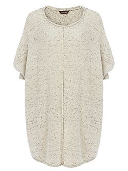 Consolata Curve Hem Knitted Jumper