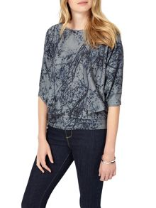 Phase Eight Franca Delicate Floral Knitted Jumper
