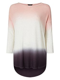 Lynda Double Dip Dye Knitted Jumper