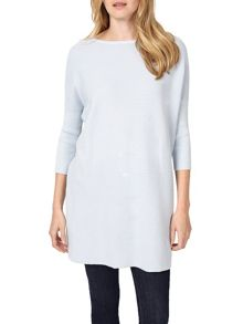 Phase Eight Tiberia Ripple Stitch Knitted Tunic