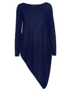 Phase Eight Drina Asymmetric Knitted Jumper