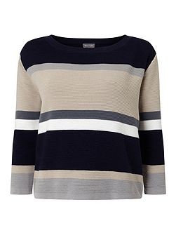 Vedette Stripe Knitted Jumper